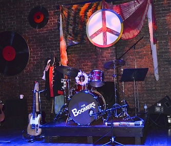 Cruisin' with the Boomers ~ Set Design Voni Grindler